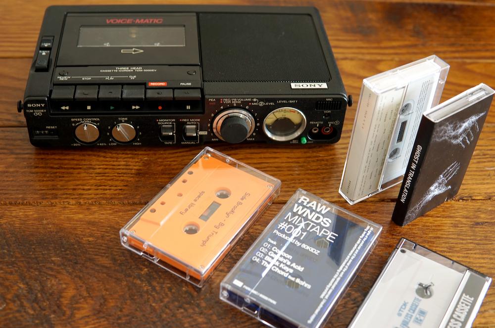 JUN氏所有のテープデッキ